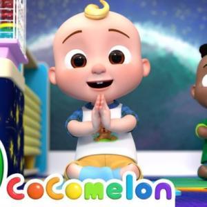 Baby Yoga Song | CoComelon Nursery Rhymes & Kids Songs