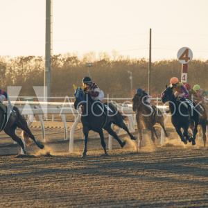 門別競馬場のレース