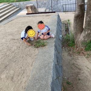 4歳0か月 友達と遊んでハイテンション