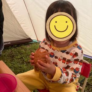 4歳0か月 奥大山へキャンプに行く②