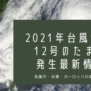 台風11号12号2021たまご発生か?最新進路予想を気象庁・米軍・ヨーロッパWindyの情報から