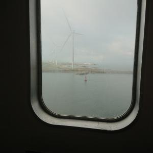 おはようの秋田港~新日本海フェリーなう