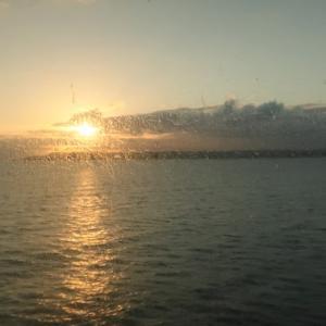 新日本海フェリー「らいらっく」寄港便二日目ディナー