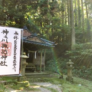 神之川諏訪神社【鹿児島】丸田与右衛門の嫡子右京と次男与四郎が再建した。