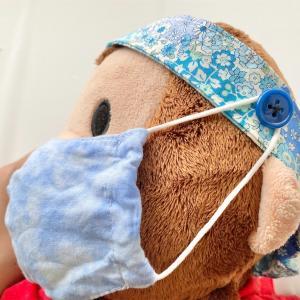 耳切れ対策!マスクがつけられるヘアバンドの作り方