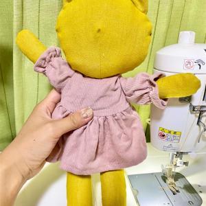 ソランちゃんのお洋服が着られる!ぬいぐるみ作りました。