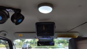 ルームミラー上部に ミラー型ドライブレコーダーをDIY設置~エブリイワゴンDA17W