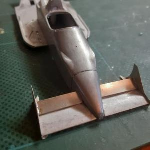 メタルキットの作り方Williams FW11b・フロントウイングとか