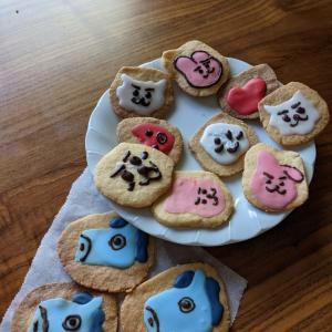 初めてのアイシングクッキー