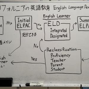 カリフォルニアの英語教育 ELD