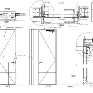 シンプルで基本的な木製建具図はしっかり覚えましょう!