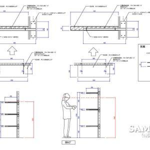 インロー式で壁面に固定棚を納める場合には2種類のほうほうがある!