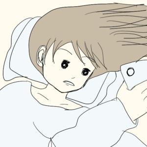 眠れなくて。