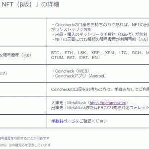 【NFTアート】コインチェックがNFTマーケットを始動!