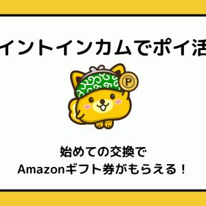 【ポイントインカム】友達紹介キャンペーン。アマギフ1,000円分もらえる!