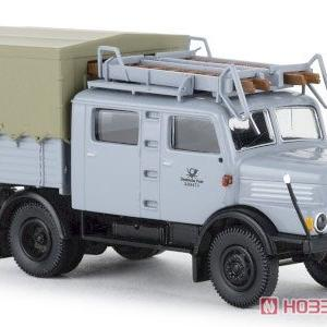 1/87 IFA S 4000-1 Bautruppwagen 1960 ドイツ郵便 2.Version(グレー)