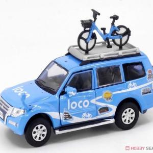 Tiny City No.128 三菱パジェロ Loco Bike