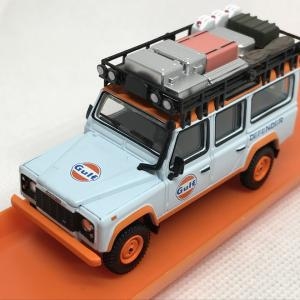 本日の戦果☆ LAND ROVER DEFENDER 110 GULF / MIJO / MINI GT