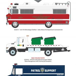 1/64 H.D. Trucks Series 22