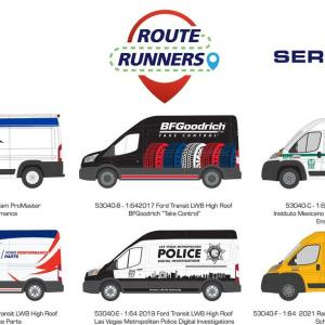 1/64 Route Runners Series 4