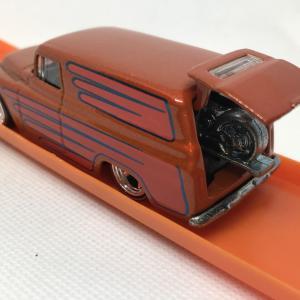 ブリバリ '55 CHEVY PANEL / バイク搭載 / ホットウィール