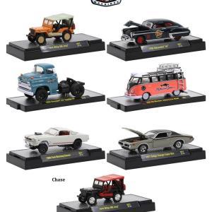 1/64 M2 Gasser / M2 Auto-Thentics / M2 Auto-Trucks / M2 VW 6個アソート