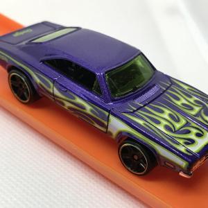 ブリバリ '69 DODGE CHARGER 500 / FLAMES / ホットウィール