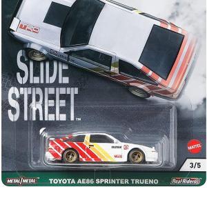 ホットウィール(Hot Wheels) カーカルチャー スライドストリート トヨタ AE86 スプリンター トレノ GRJ83