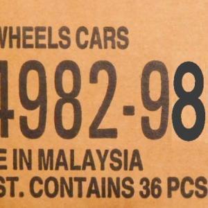1/64 Hot Wheels ベーシックカー 2021Mアソート 予約リンク