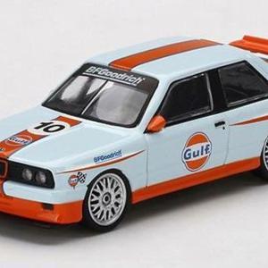 1/64 BMW M3 E30 ガルフ 左ハンドル 北米限定