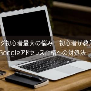 ブログ初心者の最大の悩み 初心者が教えるGoogle アドセンス合格への対処法
