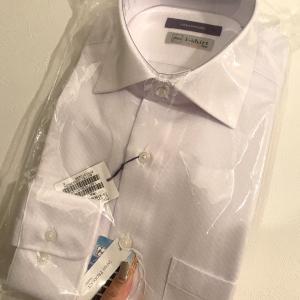 はるやまでワイシャツとふたつ買い