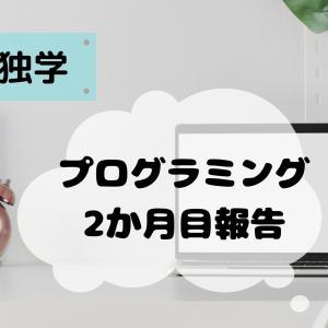 【独学!】プログラミング学習2ヶ月目の報告と感想