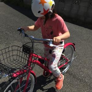 自転車練習継続中