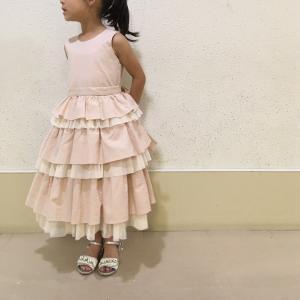 娘のドレス製作~パターン補正