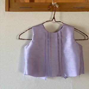 娘のドレス製作~本番まであと6日