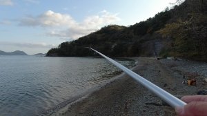 2021年4月3日 今シーズン初キス釣行in岡津ゴロタ浜
