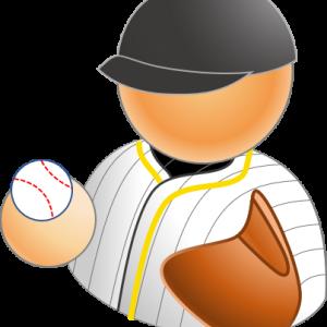 野球選手アイコン4×12種類