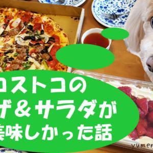 コストコのピザコンボ&チョレギサラダが予想以上に美味しかった話