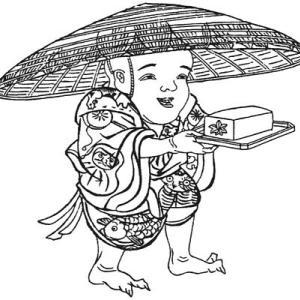 【食べてはいけない】豆腐小僧【妖怪図鑑】