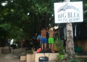 タオ島ダイビング③「ビッグブルー ダイビングリゾート」