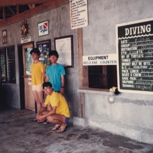 私とフィリピン②「セブ島ダイビング」