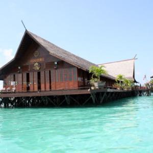 「Sipadan Kapalai Dive Resort」チェックダイブはマスククリア