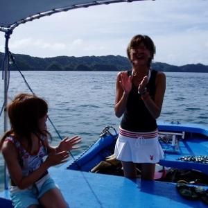 中年オヤジ一人旅!パラオ2006 GW③「上級ポイント・シャークシティ」ダイビング?釣り?