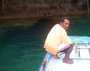 中年オヤジ一人旅!パラオ2006 GW④「水中冒険洞窟ダイビング」