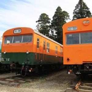 昭和の鉄道車両保存施設「いすみポッポの丘」
