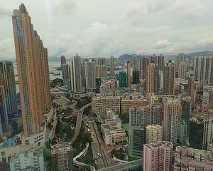 香港③10km ウォーキング「Cordis 旺角 (Hotel)~重慶大厦~アベニュー オブ スターズ」観光