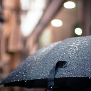 梅雨、折りたたみ傘を買った(島人は傘を持たない)