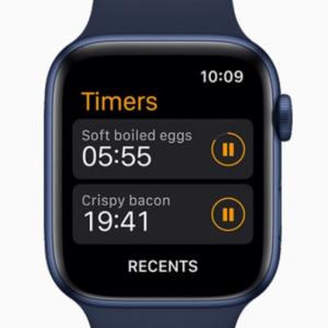 watchOS8 複数 タイマー
