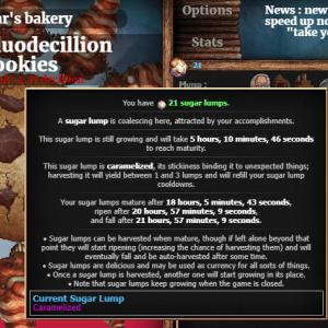 【クッキークリッカー】キャラメル角砂糖を収穫するのじゃ!